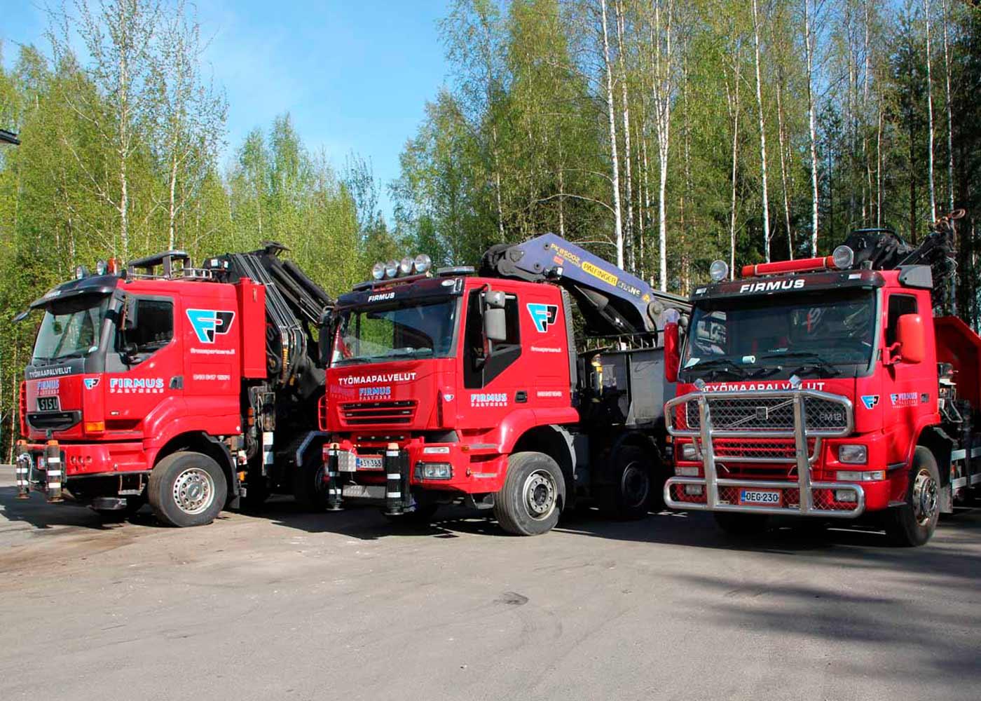 Firmus Partners kuljetus- ja ylläptiopalvelut